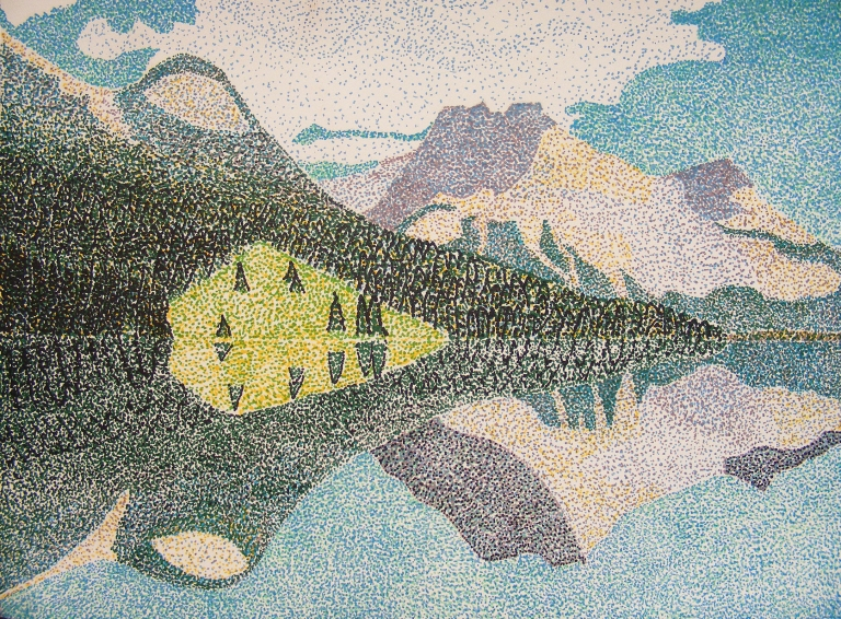 mountain_lake_pointillism_ul