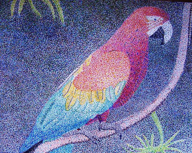 parrot_pointillism_ul