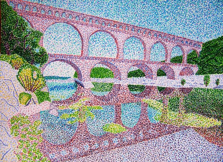 pont_du_gard_aqueduct_in_pointillism_ul