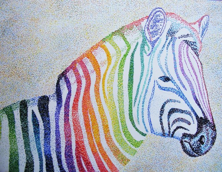 rainbow_zebra_pointilism_ul