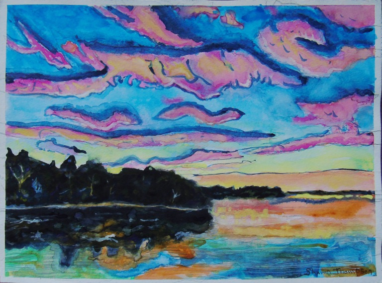 woodlands_sunset_large_watercolour_ul