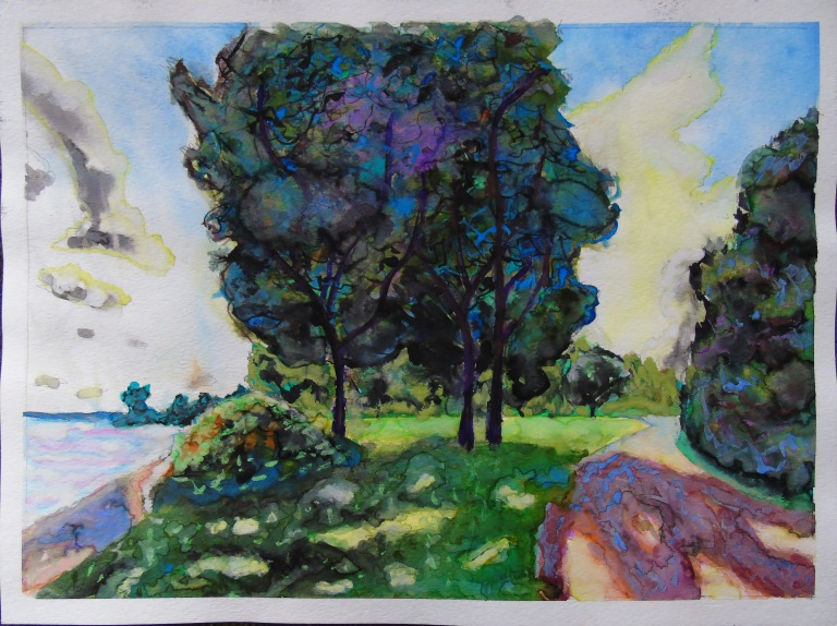 macdonell_island_trees_watercolour