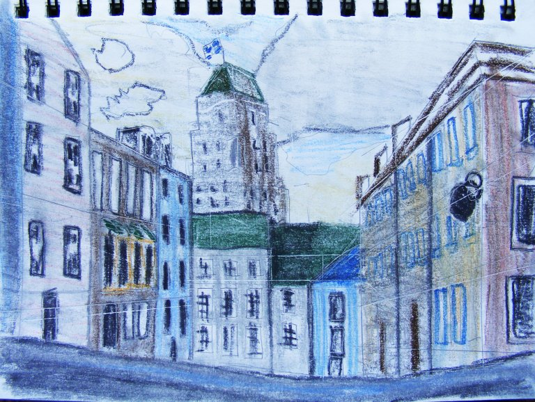 Streets of Old Quebec 1