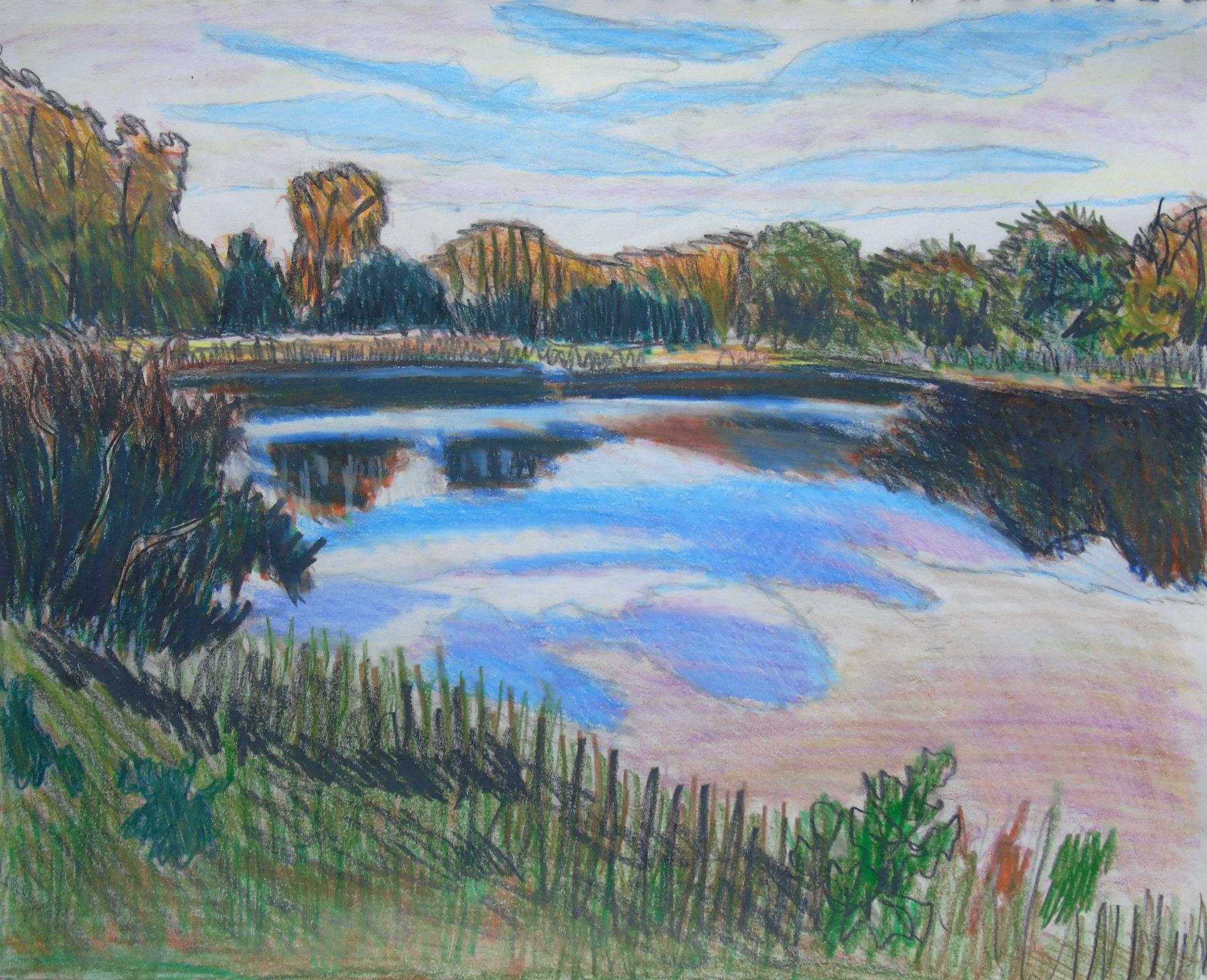 guindon_pond_coloured_pencils_ul